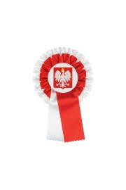 Polish Double Patriotic Rosette